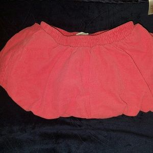 Corduroy BuBBle Skirt 👶 Coral